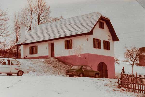 Bauernhof Mooshöf um 1980