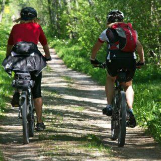 Ausflug mit Trekkingrad