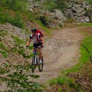 Einzeltour am Trekkingrad