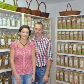 Unser Nachbar Biohof Terler mit Bio-Produkten aus eigener Erzeugung