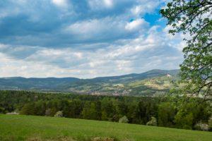 Blick auf Pöllau-Pöllauberg- Masenberg